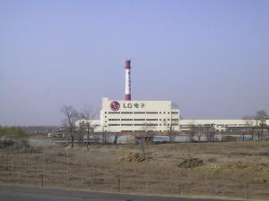 LG전자 텐진 현지 공장 전경