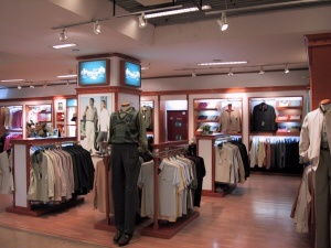 북경의 한 유명 백화점 매장 전경